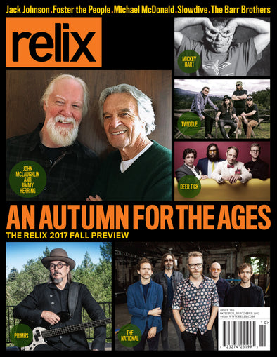 October/November 2017 Relix Issue