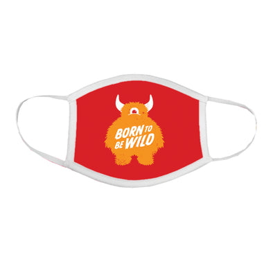 Born To Be Wild - Kid's Face Mask
