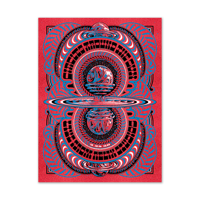 Circles Around The Sun - The Relix Session (Limited Edition Red Poster Variant)