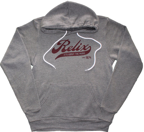 Relix Eco Grey Pullover Hoodie