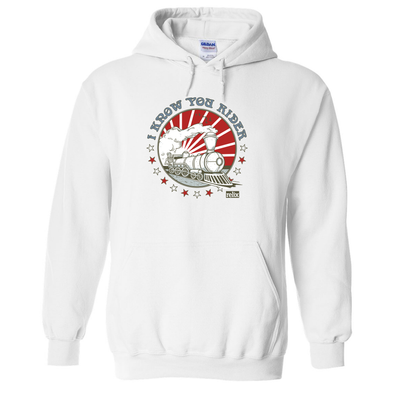 I Know You Rider - Throwback Hooded Sweatshirt