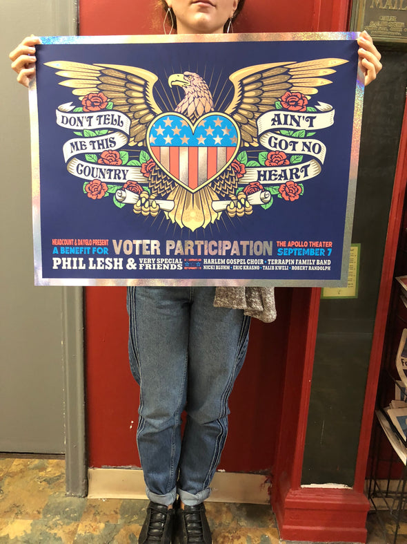 Phil Lesh at Apollo - Limited Edition Poster