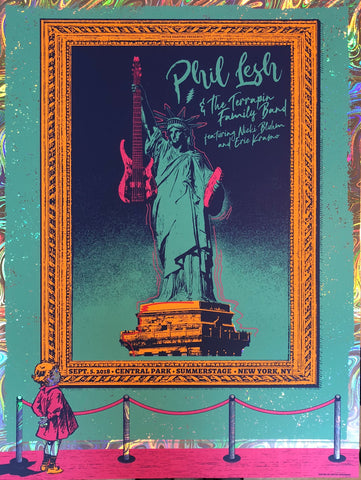 Phil Lesh in Central Park - Limited Edition 2018 Poster