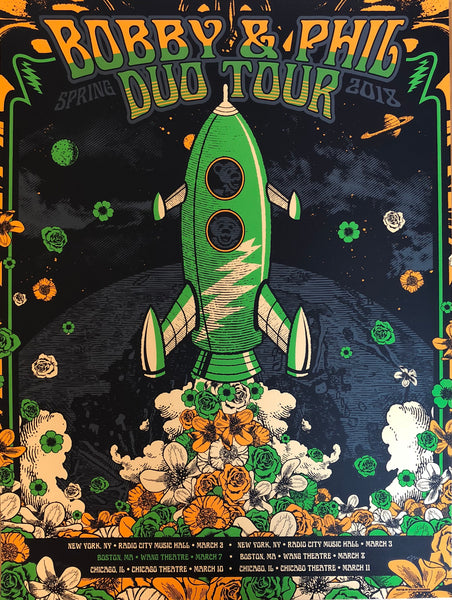 Bobby & Phil Duo Tour - Limited Edition VIP Poster