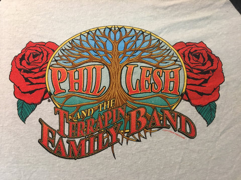 Phil Lesh & The Terrapin Family Band Baseball Tee