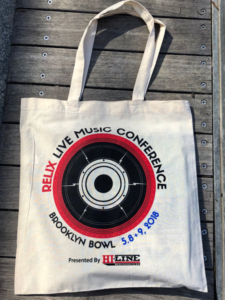 Relix Live Music Conference Canvas Tote Bag