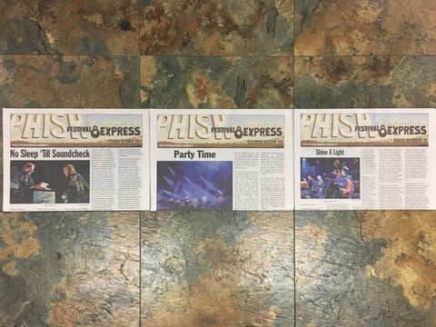 Phish Festival 8 Express - Daily Newspaper Bundle