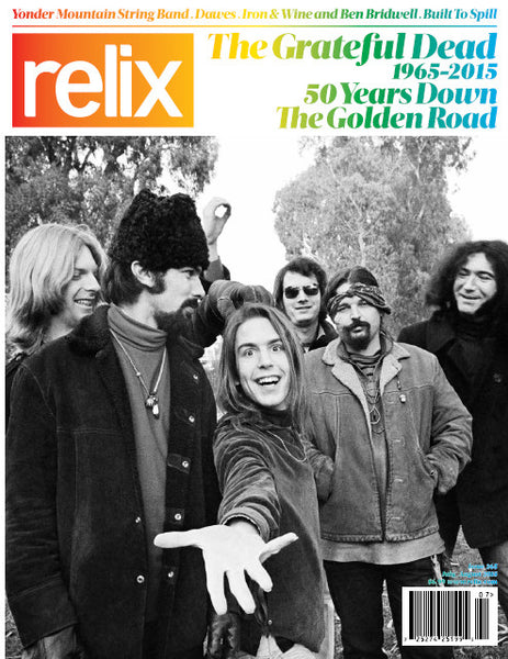 July/August 2015 Relix Issue