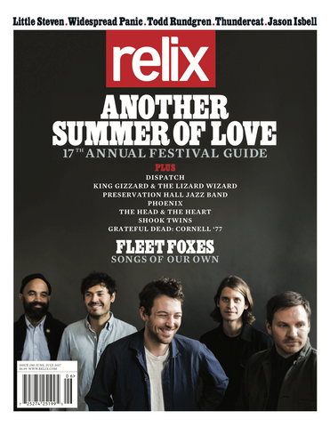June/July 2017 Relix Issue