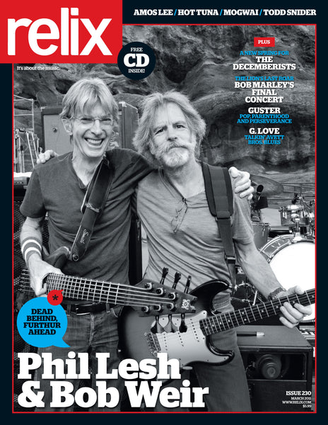 Collector's Edition: March 2011 Relix Magazine feat. Bob Weir & Phil Lesh