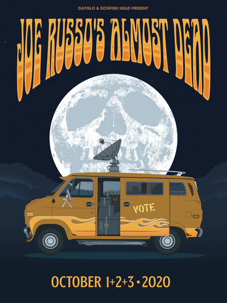 Joe Russo's Almost Dead - October 2020 Livestream Event Poster