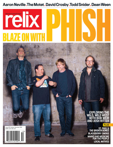 October/November 2016 Relix Issue