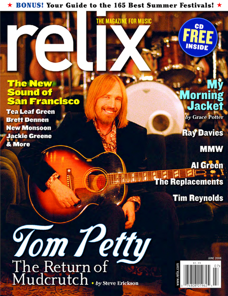 Collector's Edition: June 2008 Relix Magazine feat. Tom Petty