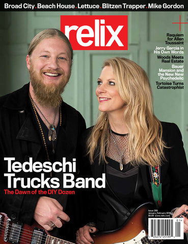 January_February 2016 Relix Issue