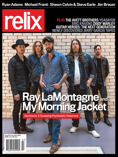 July/August 2016 Relix Issue