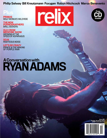 October/November 2014 Relix Issue