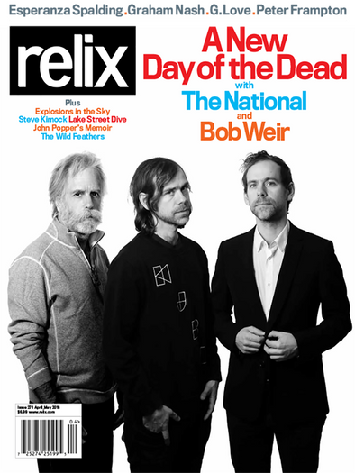 April/May 2016 Relix Issue