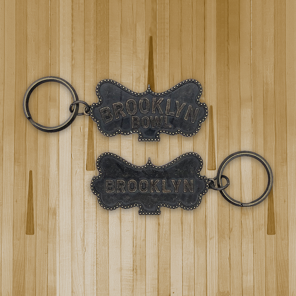 Brooklyn Bowl Williamsburg Keychain