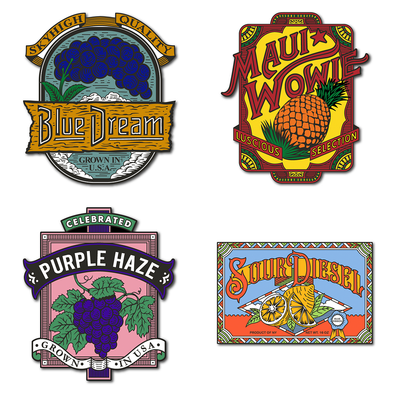 Limited Edition Farmer's Market Pin Set