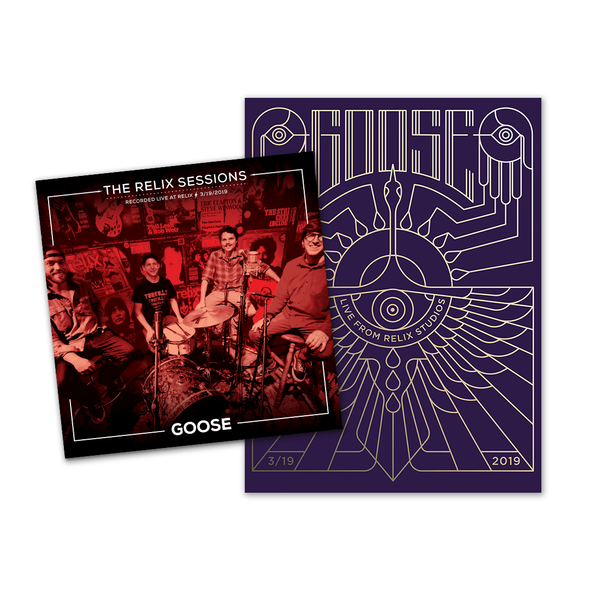 Goose - The Relix Session (Limited Edition Vinyl + Gold Foil Poster)