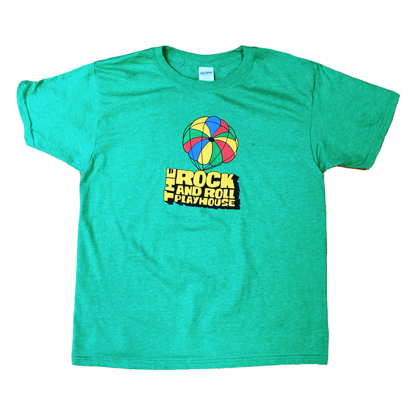 Green Rock and Roll Playhouse Kid's Parachute T-Shirt