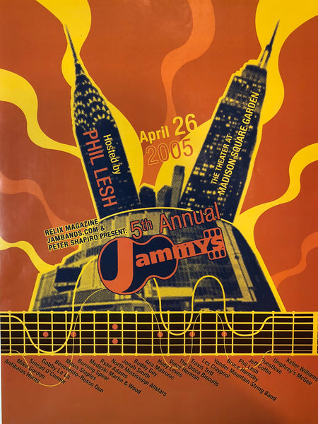 "Vintage 5th Annual Jammys Poster (2005) - 18"" x 24"""