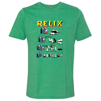 "Jim Pollock ""Pied Piper"" Green T-Shirt"