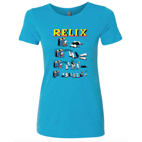 "Jim Pollock ""Pied Piper"" Turquoise Women's T-Shirt"