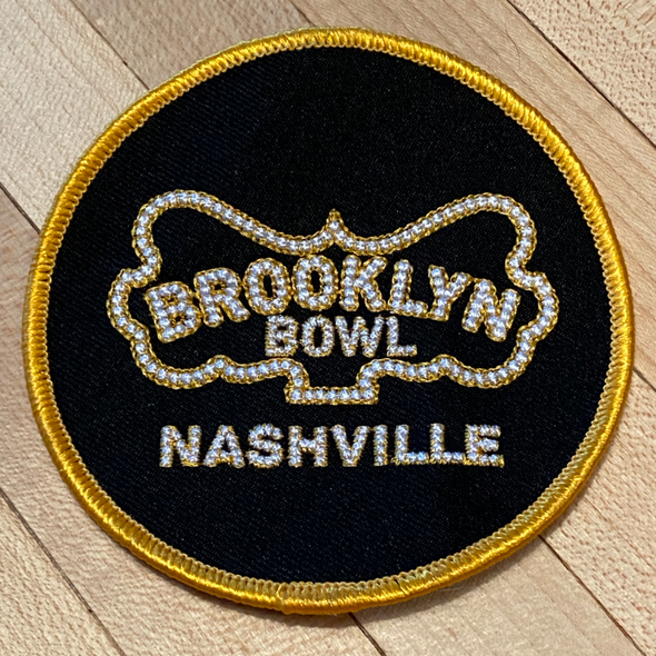 Brooklyn Bowl Nashville Embroidered Patch