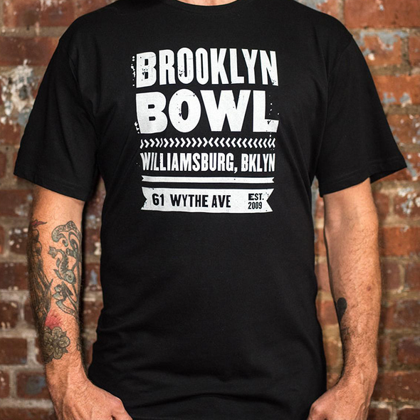 Brooklyn Bowl Williamsburg Poster T-Shirt