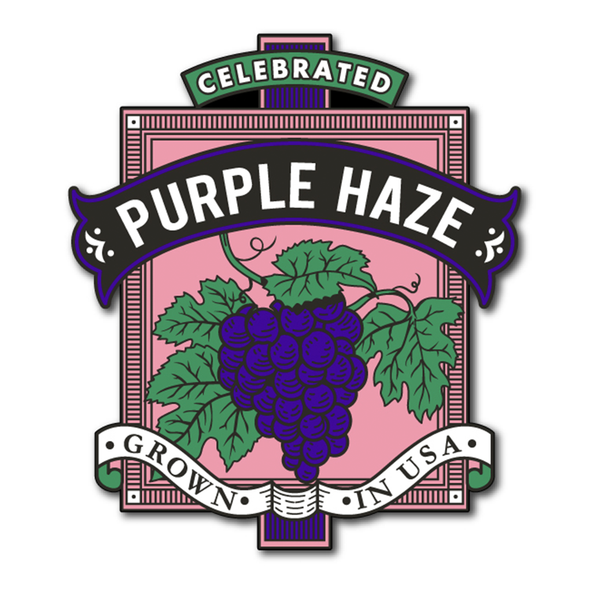 Limited Edition Purple Haze Pin