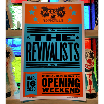 The Revivalists - Brooklyn Bowl Nashville Poster