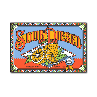 Limited Edition Sour Diesel Pin