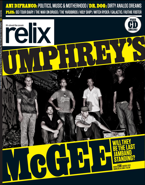 March 2012 Relix Issue feat. Umphrey's McGee