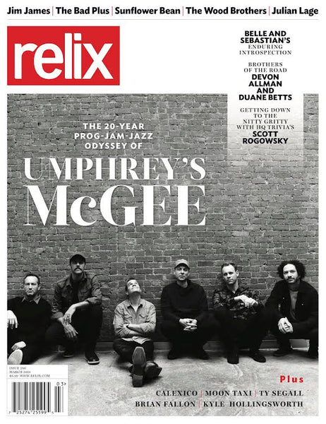 March 2018 Relix Issue