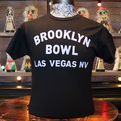 Brooklyn Bowl Las Vegas Black T-Shirt