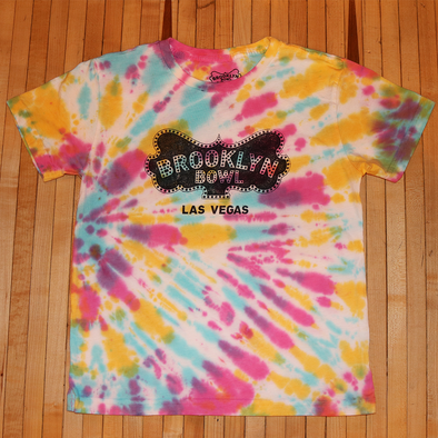 Brooklyn Bowl Las Vegas Kid's Tie-Dye Logo T-Shirt