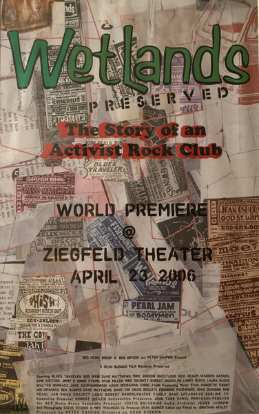 Wetlands Preserved - World Premiere Poster