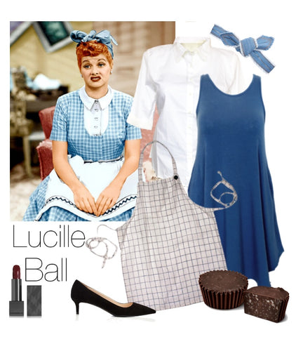 Lucille Ball costume for Plus Size women