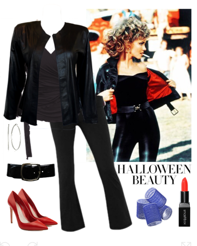 Olivia Newton John as Sandy from Grease Halloween Costume for Plus Size Women