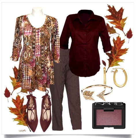 Thanksgiving outfit for Plus Size Women