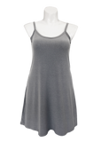 Heather gray essential cami tunic for missy and plus size women
