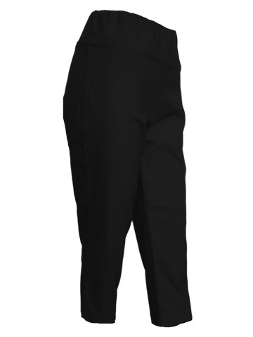 Black Stretch Comfort Capri Great For All Figures
