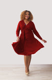 Wrap Dress Red