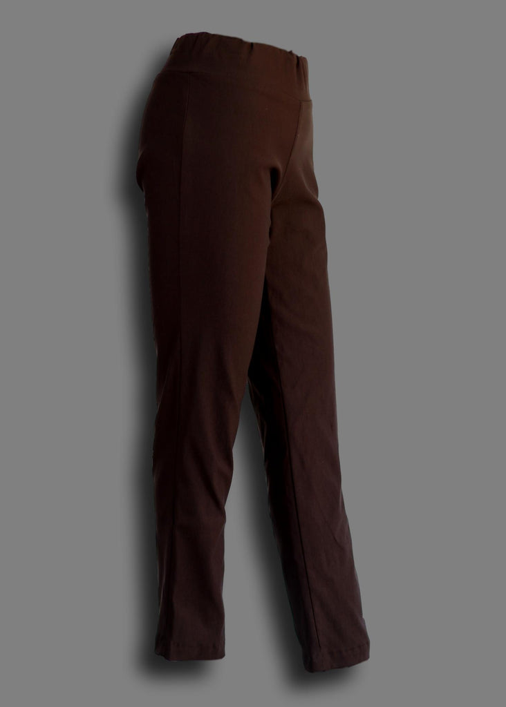 Pull On Jegging Pant Brown