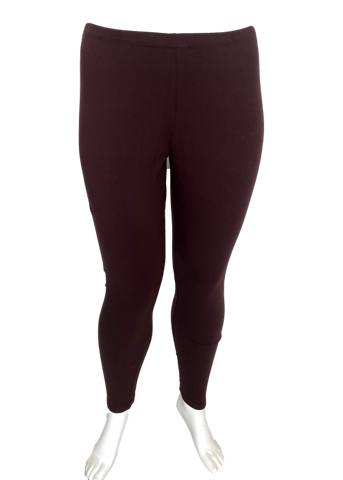 Cotton Legging in Brown