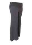 Palazzo Pant in Charcoal Gray