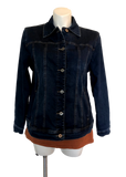 Denim jacket for curvy women