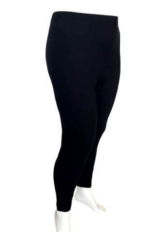 Cotton Legging in Black