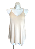Reversible Spaghetti Strap Swing Top Cream